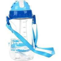 Garrafa Infantil Jacki Design Foguete - Masculino-Azul Royal