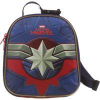 Lancheira Térmica Capitã Marvel | Cor: Vermelho