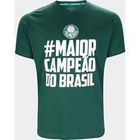 Camiseta Palmeiras Maior Campeão Masculina - Masculino