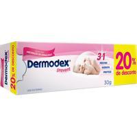 Creme Para Prevenção De Assaduras Dermodex Prevent 30G