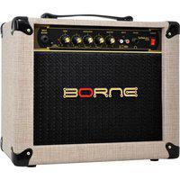 Amplificador Para Guitarra Borne Vorax 630 Palha 25W Rms