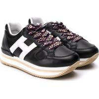Hogan Kids H222 Sneakers - Preto