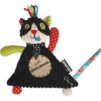 Naninha Charlos, O Gato Deglingos - Unissex-Preto