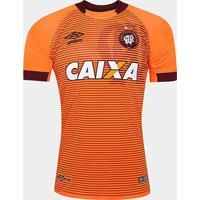 Camisa Athletico-Pr Ii 17/18 S/Nº Torcedor Umbro Masculina - Masculino