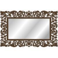 Espelho De Parede 15179I Marrom 70X158 Art Shop