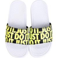Chinelo Nike Benassi Jdi Print Just Do It Masculino - Masculino