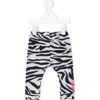 Kenzo Kids Legging Animal Print - Cinza