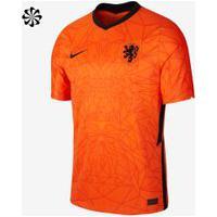Camisa Nike Holanda I 2020/21 Torcedor Pro Masculina