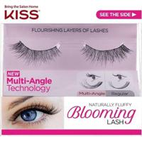 Cílios Postiços Kiss New York Blooming Lash Camellias - Feminino-Preto