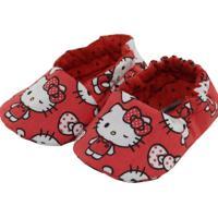 Pantufa Tatibella Baby Gatinha Vermelha