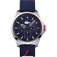 Relógio Lacoste Masculino Borracha Azul - 2010979