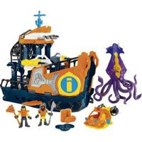 Playset Imaginext - Navio Comando Do Mar - Fisher-Price - Masculino-Incolor