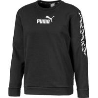 Blusa Puma Amplified Crew Fl Masculina - Masculino-Preto