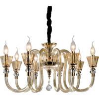 Lustre Lamp Show Wells Dourado