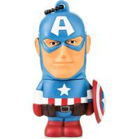 Pendrive Marvel Capitão América 8Gb Usb Para Arquivos Multilaser