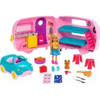 Boneca Barbie Mundo Da Chelsea Cámper