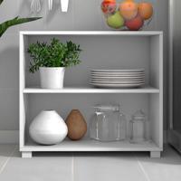 Armário De Cozinha Bmu63 Branco - Brv Móveis