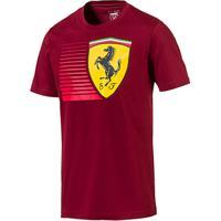 Netshoes  Camiseta Puma Scuderia Ferrari Big Shield Tee Masculina -  Masculino 25b476dfe17