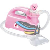 Inalador Nebulizador Ultrassônico Pulmosonic Star Premium- Soniclear - Unissex-Rosa