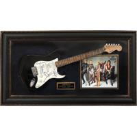 Quadro Com Guitarra Autografada Aerosmith