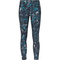 Sweaty Betty Calça Legging 7/8 Power Com Estampa Geométrica - Azul
