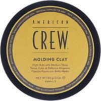 Pomada De Fixação American Crew Molding Clay 85G - Unissex-Incolor