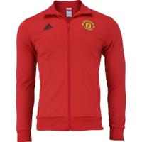 Jaqueta Manchester United 3S 18/19 Adidas - Masculina - Vermelho