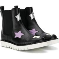 Stella Mccartney Kids Galocha Stars - Preto