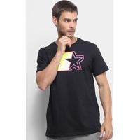 Camiseta Starter Basic Masculina - Masculino-Preto