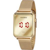 Relógio Digital Mondaine Feminino - 32171Lpmvde1 Dourado