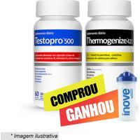 Kit Testopro⮠+ Thermogenize 420® Com Coqueteleira- 2 Uninove