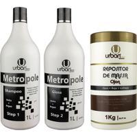 Escova Progressiva Metropole Ureia Botox Repositor De Massa - Urban Eco