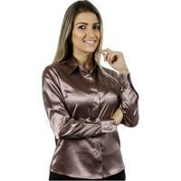 Camisa Pimenta Rosada Naomi - Feminino-Rosa