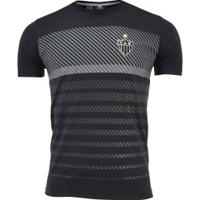 Camiseta Do Atlético-Mg 19 Graphic - Masculina - Preto