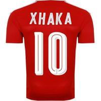 Camisa Puma Suíça Home 2016 10 Xhaka Masculina - Masculino