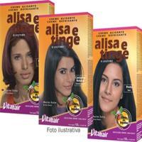 Creme Alisante Alisa E Tinge Castanho Claro