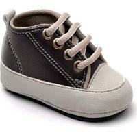Tênis Top Franca Shoes Infantil - Unissex-Marrom