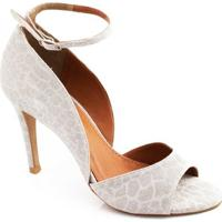 Sapato Lurex Zariff Concept - Feminino-Prata
