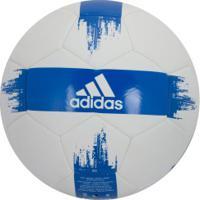 Bola De Futebol De Campo Adidas Epp Ii - Branco/Azul