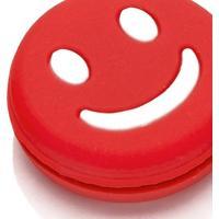 Antivibrador Emotions Smile Vermelho - Unissex