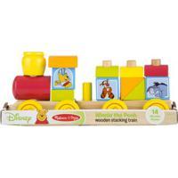 Trenzinho De Madeira - Disney - Pooh - New Toys