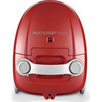 Aspirador De Pó 1400W Vermelho 127V - Multilaser