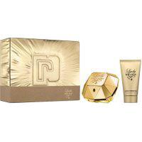 Kit Paco Rabanne Lady Million Feminino Eau De Parfum 50Ml + Hidratante Corporal 75Ml - 1 Unidade Único