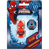 Pen Drive Marvel Vingadores Homem Aranha 8Gb Usb Leitura 10Mb/S E Gravação 3Mb/S Multilaser - Pd084 Pd084