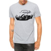 Camiseta Criativa Urbana Carro Antigo Clássico Fusca Manga Curta - Masculino