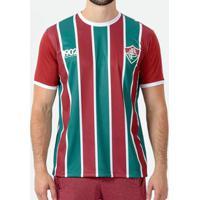 Camiseta Braziline Manga Curta Fluminense Attract Masculina - Masculino