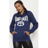 Blusão Tapout® - Azul Marinho & Brancotapout