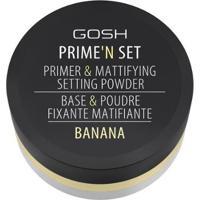 Primer Facial Gosh Copenhagen - Prime'N Set Powder Banana - Feminino-Incolor