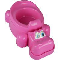 Troninho Bebe Pinico Infantil Privada Plike Baby Menina Rosa