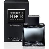 Perfume Masculino Seduction In Black Men Antonio Banderas Eau De Toilette 100Ml - Masculino-Incolor